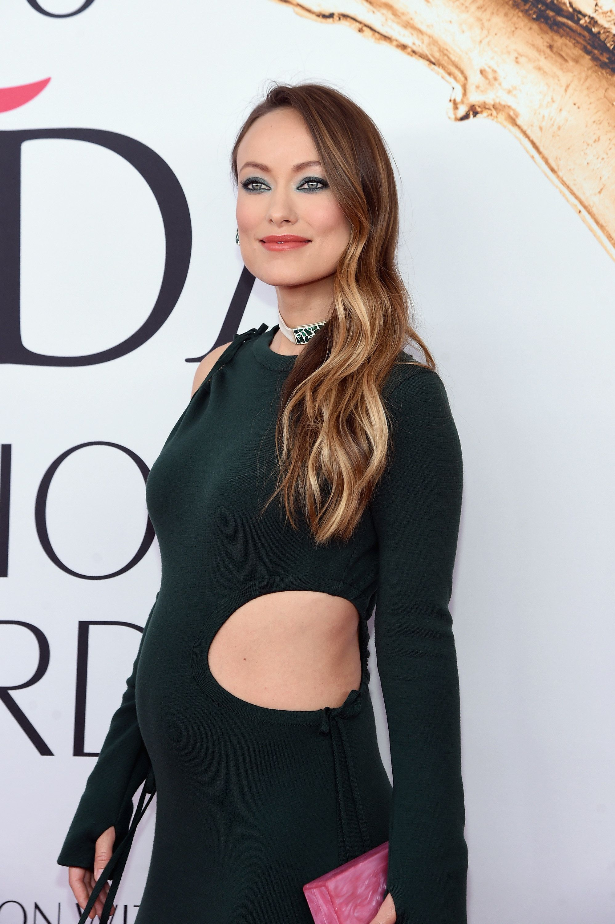 Pregnant Olivia Wilde Wows In A Strategically Cut-Out