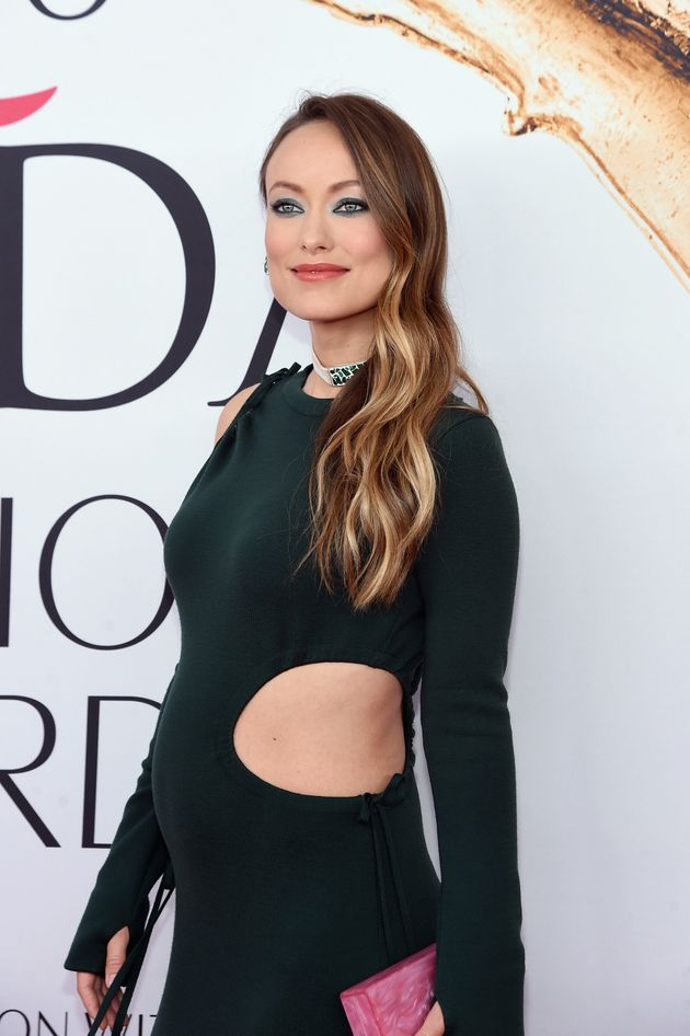 Pregnant Olivia Wilde Wows In A Strategically Cut-Out Gown