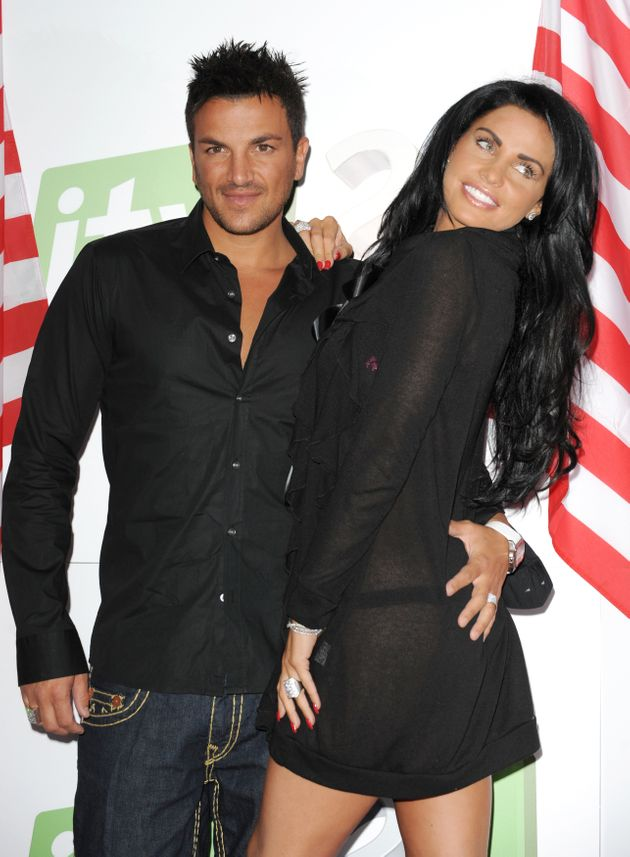Peter Andre and Katie Price at the peak of their joint