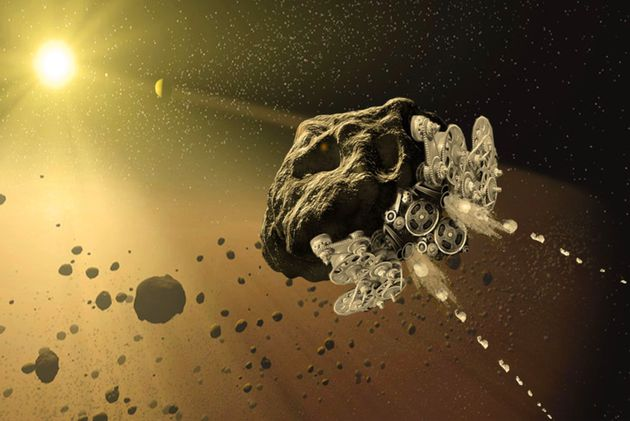 NASA Wants To Turn Asteroids Into Giant