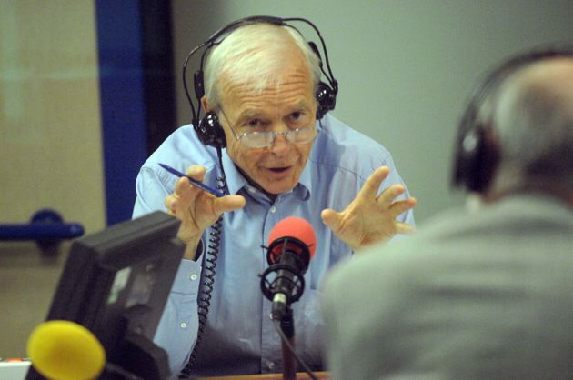 Humphrys seemed baffled atbeing called an