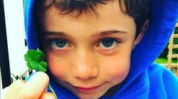 Six-Year-Old Has Adorable Wish When He Finds Five-Leaf