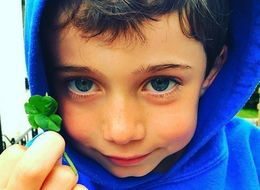 Six-Year-Old Has Adorable Wish When He Finds Five-Leaf Clover