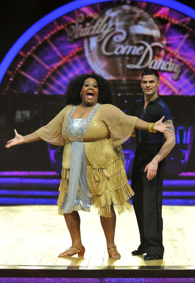 Alison competed on 'Strictly Come Dancing' in