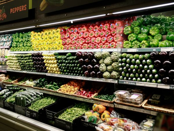 A well-curated produce aisle is nothing short of a work of art.