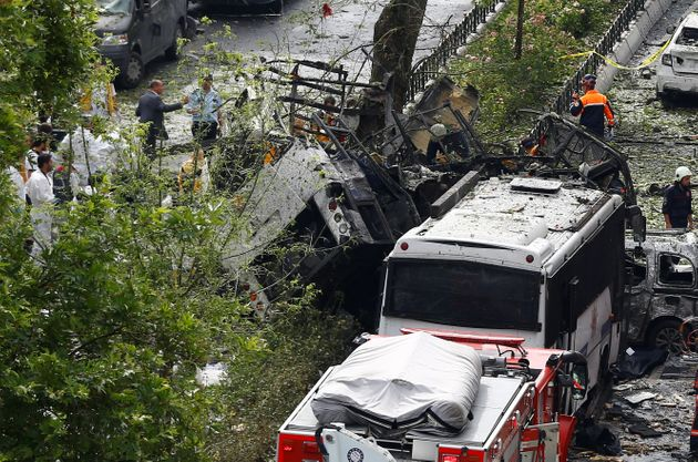 A car bomb left11 people dead and 36 wounded in Istanbul, Turkey on Tuesday