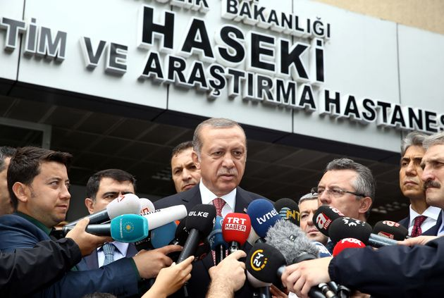 President Tayyip Erdogan vowed the NATO member's fight against terrorism would go on, describing the...