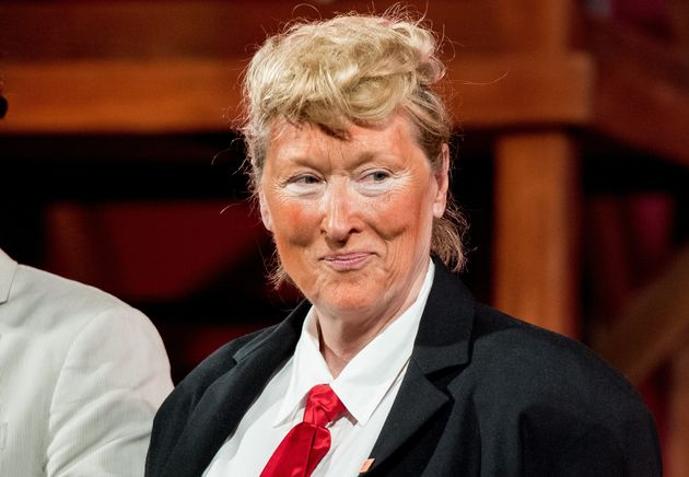 Meryl Streep's Donald Trump Impression Turns Heads At The New York Public Theater 2016