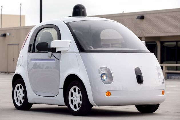 A prototype of Google's own self-driving