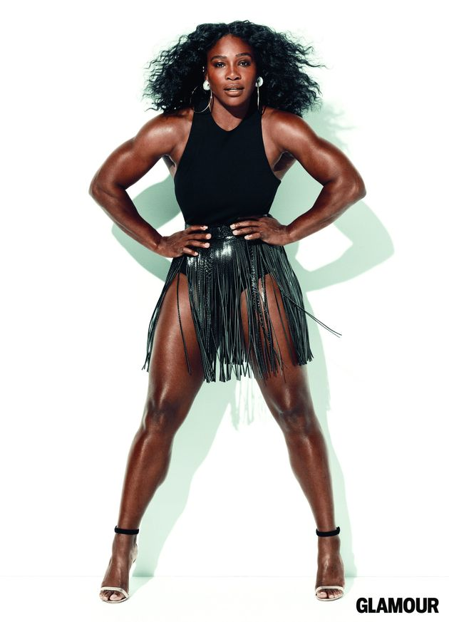 Serena Williams Slays On The Cover Of