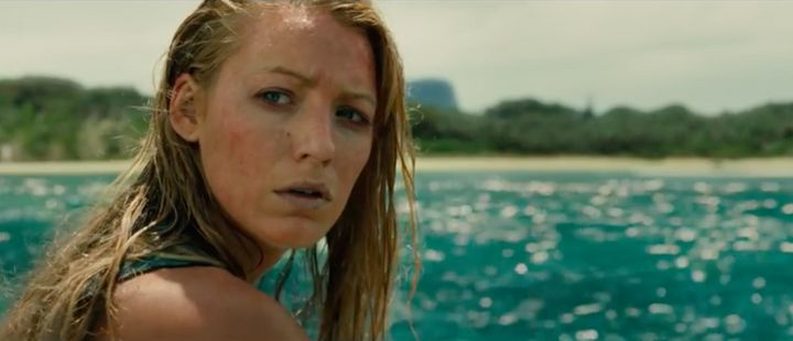 It's Blake Lively vs. Shark.