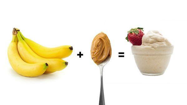 "Soft-serve-like banana ice cream is a tasty snack unto itself (<a href=""http://www.oprah.com/omagazine/Banana-Soft-Serve-Reci"