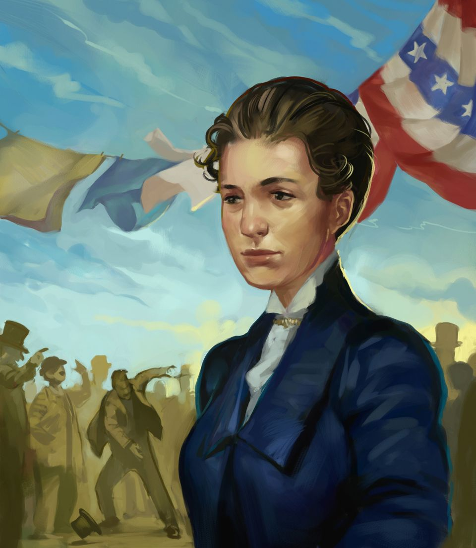 Susanna Madora Salter was the first woman elected to political office in the United States. She was elected mayor of Arg