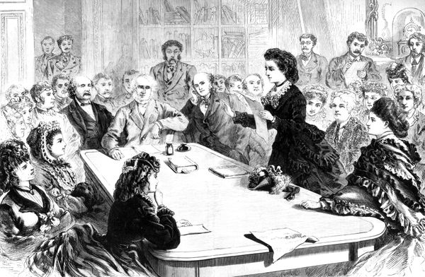 Victoria Woodhull was the firstwomanto run for president, in 1872.