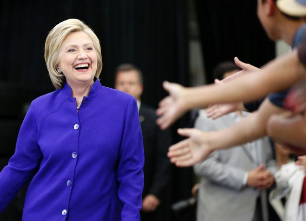 Hillary Clinton on Tuesday reflected on the movement that helped lead up to this historic