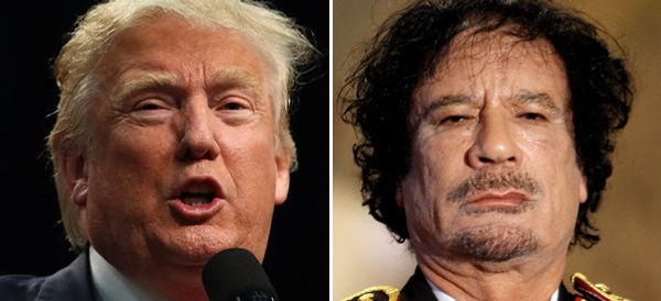 How Trump Tried To Raise Money Off Of Gaddafi And His Regime