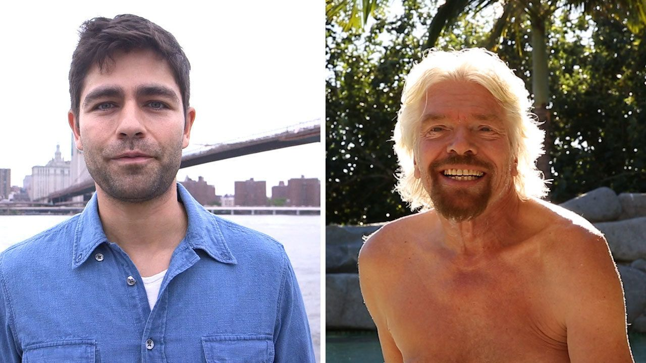 Sir Richard Branson and Adrien Grenier are teaming up for World Ocean Day.