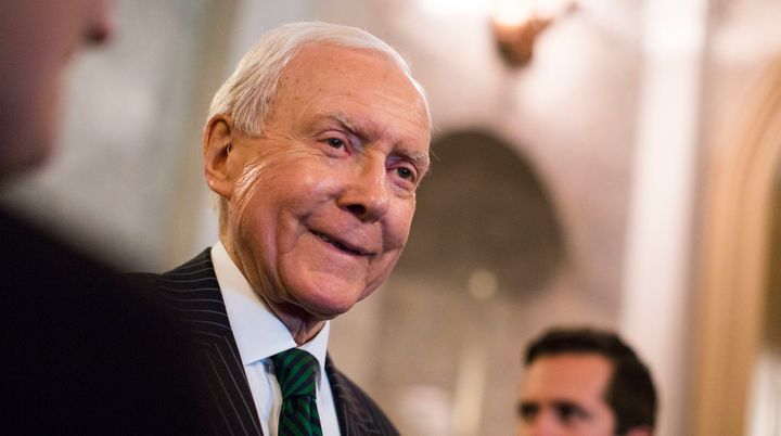 "Sen. Orrin Hatch (R-Utah) said he doesn't think Trump has ""a prejudiced bone in his body."" Okay."