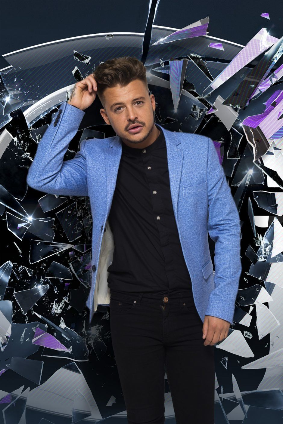 Ryan Ruckledge entered the 'Big Brother' house on