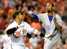 Orioles Batter Charges Mound, Punches Pitcher Square In The Face