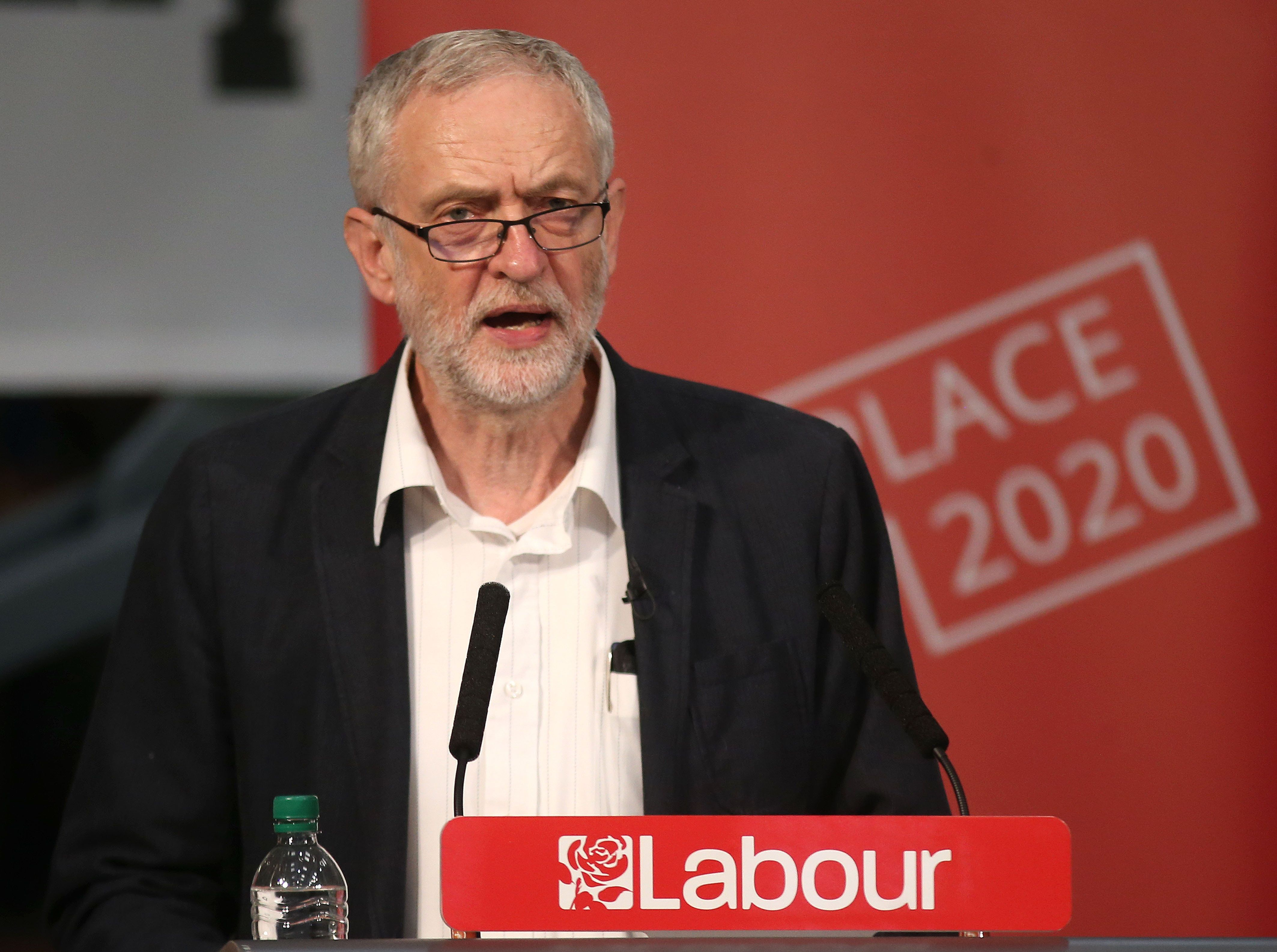 Labour leader Jeremy Corbyn said the voter registration deadline should be