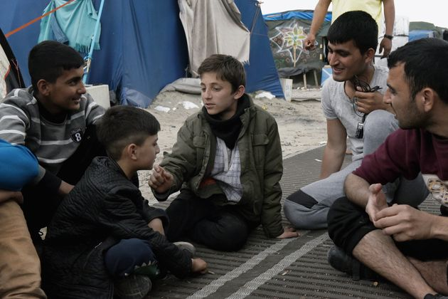 Child refugees in