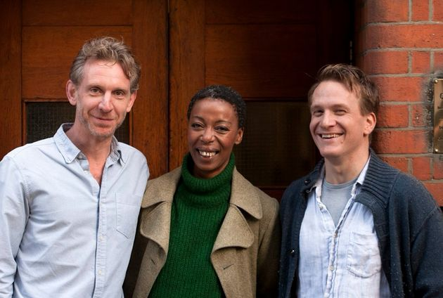 Jamie Parker, Noma Dumezweni and Paul Thornley play Harry, Hermione and