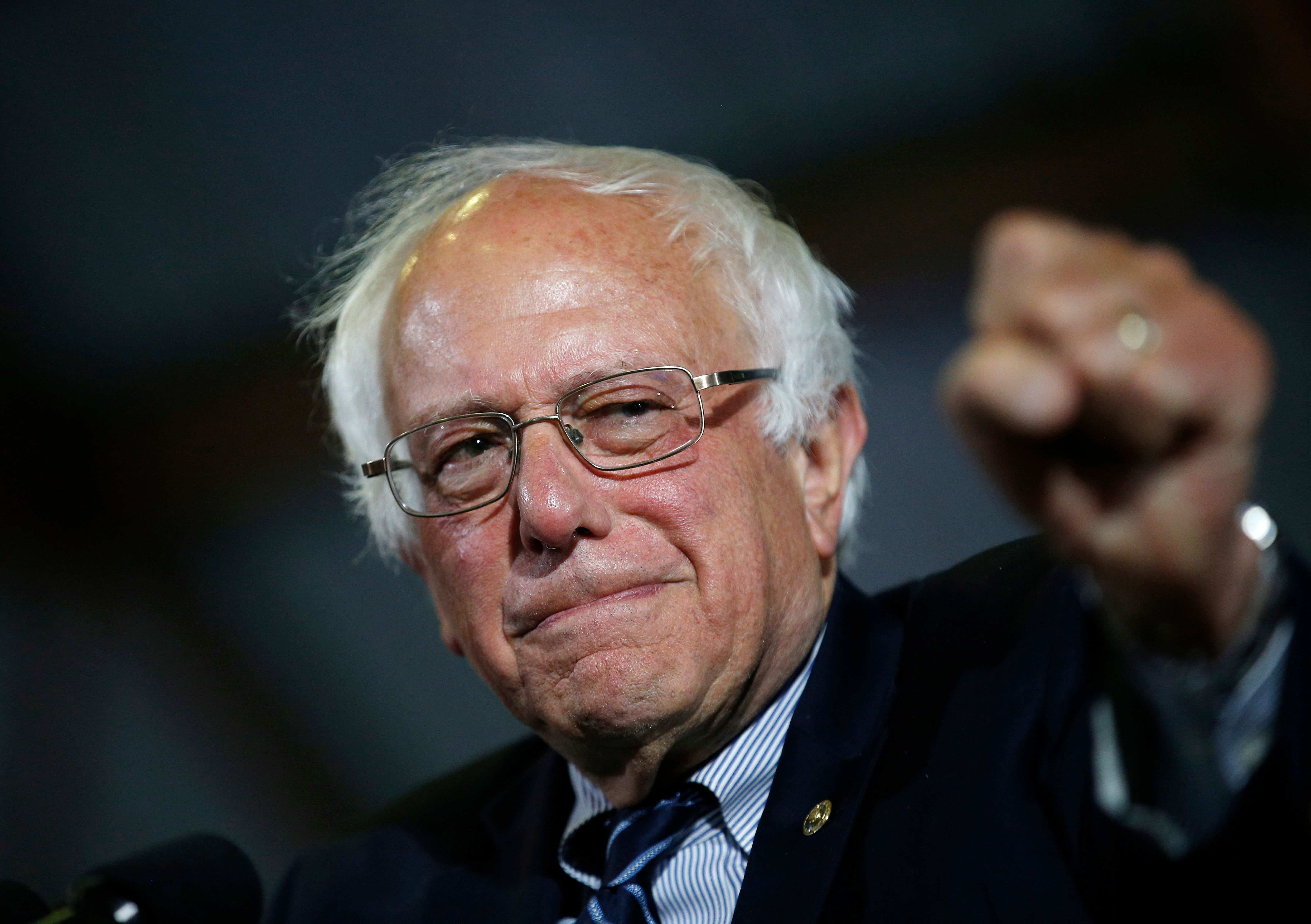 Democratic presidential candidate Sen. Bernie Sanders (I-Vt.) may not have enough delegates to win the nomination, but he and