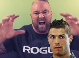 The Mountain Says He Will Crush Cristiano Ronaldo's Head If He Scores Against Iceland