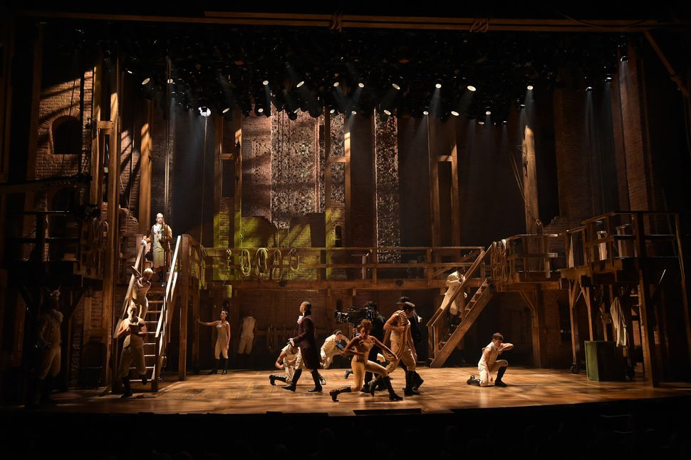 Step Inside The World Of Hamilton A Spectacular Stage