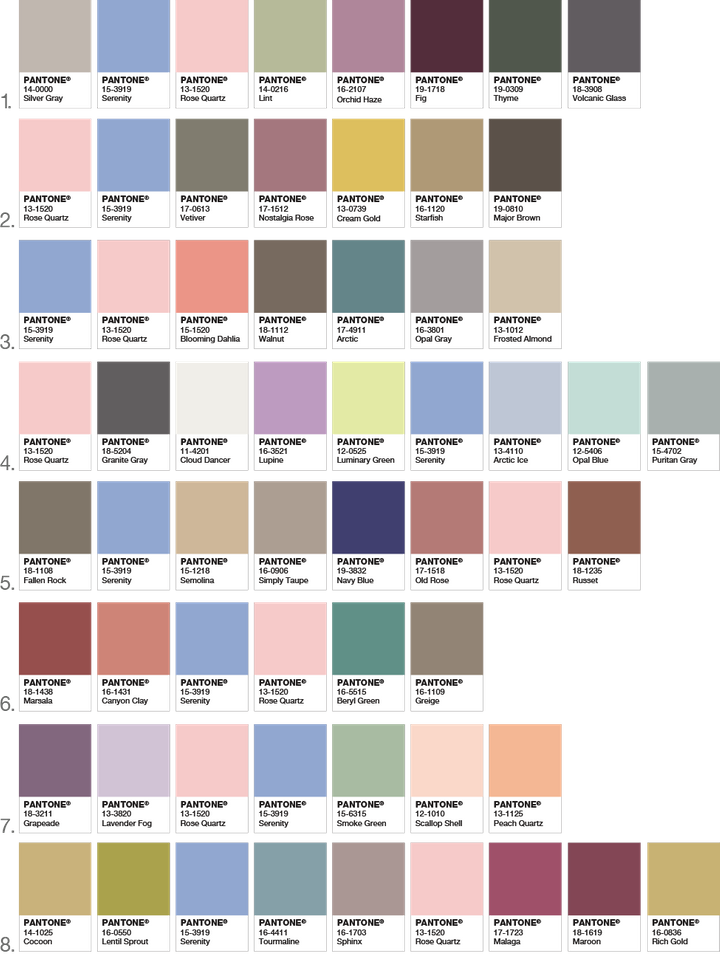 Pantone Color Names vs  What They Actually Look Like | HuffPost