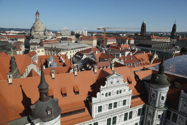 Dresden in Germany, where the controversial conference will run this