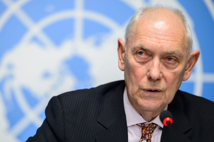 Mike Smith, chair of the U.N. inquiry, says Eritrea's regime has enslaved between 300,000 and 400,000 people over