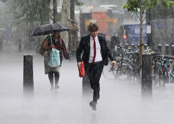 wallington flash floods in london caused by torrential