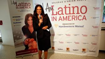 NEW YORK, NY - JUNE 6: Soledad O'Brien attends Soledad O'Brien Hosts 'I Am Latino In America' at El Museo De Barrio on June 6, 2016 in New York City. (Photo by Thos Robinson/Getty Images for INGENUITY)