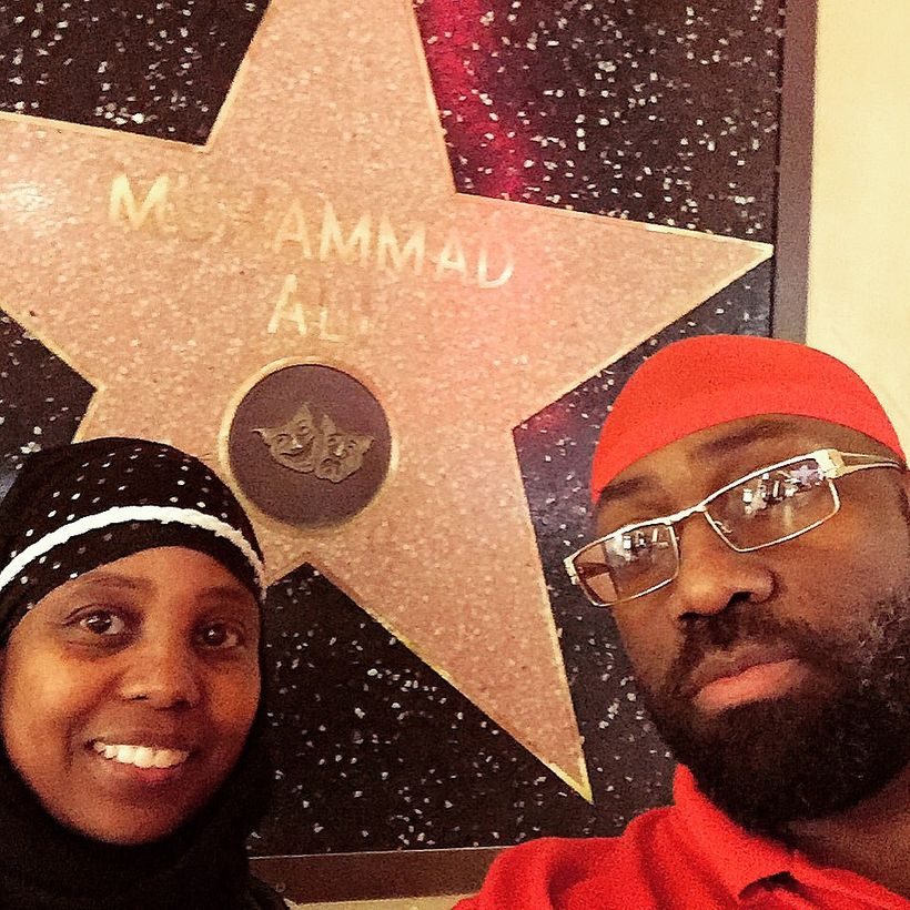 Jenny and Rufus Triplett, Hollywood Walk of Fame - Sep 2014