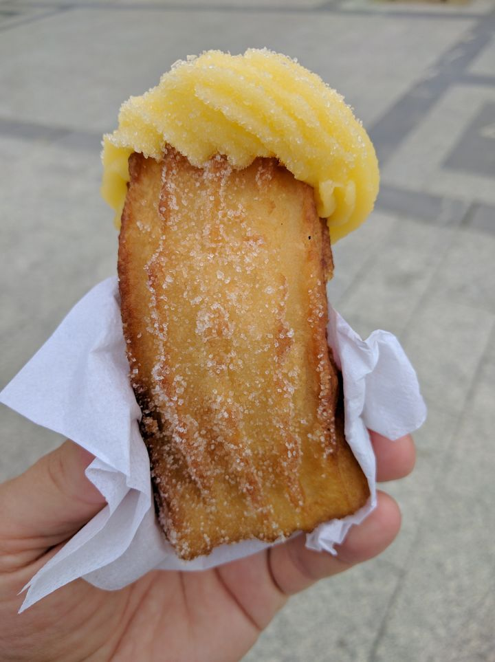 Google engineer Matt Cutts recently found a pastry in San Sebastian, Spain, that he thinks looks like Donald Trump.