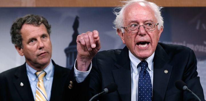 Sen. Sherrod Brown (D-Ohio) endorsed Hillary Clinton over Bernie Sanders, which reportedly annoyedthe senator from Verm
