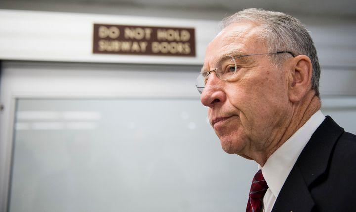 Sen. Chuck Grassley (R-Iowa) will face former Iowa Lt. Gov. Patty Judge (D) in the 2016 Senate elections.