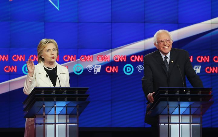 Presumptive Democratic presidential nominee Hillary Clinton implied that Sen. Bernie Sanders (I-Vt.) did not emphasize the im