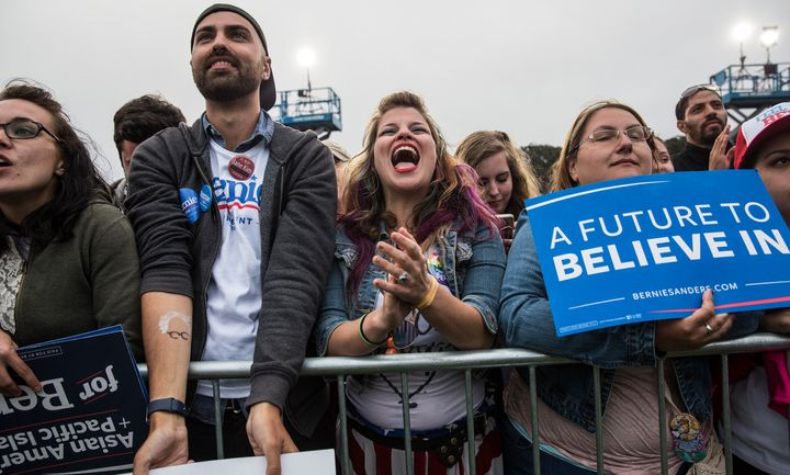 Sen. Bernie Sanders (I-Vt.) has been laying off campaign staff as the primary winds down.