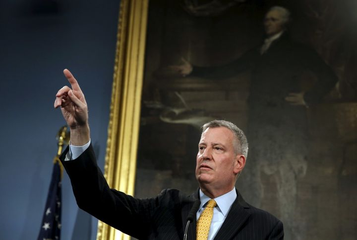 New York City Mayor Bill de Blasio streamed a live reading of the Stanford sexual assault victim's powerful letter.