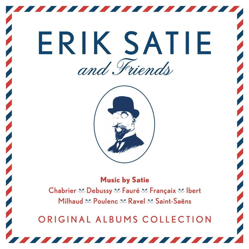 Erik Satie And Friends / Original Albums Collection