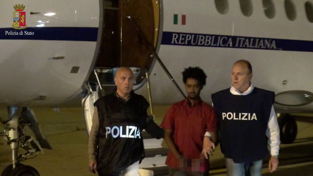 The man Italian authorities claim isMered Medhanie in