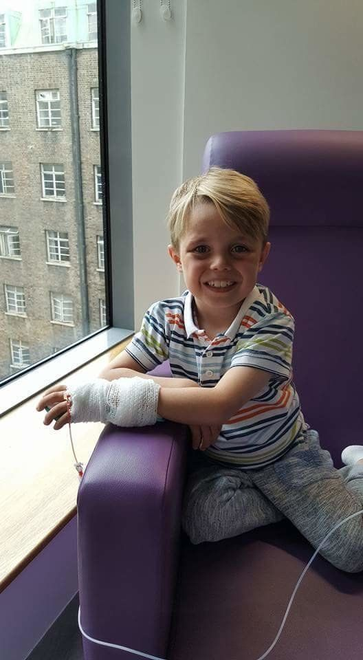 Dad Gives The Most Precious Gift To Six-Year-Old With Nephrotic