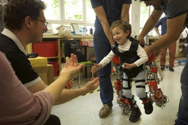Exoskeleton Could Help Children With Muscular Atrophy Walk For First