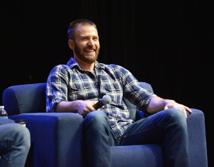Actor Chris Evans atWizard World Comic Con on June 4, 2016, in Philadelphia, Pennsylvania.