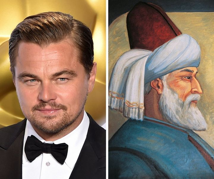 "Would Leonardo DiCaprio be a ""bold"" choice to play Muslim Persian poet Rumi?"