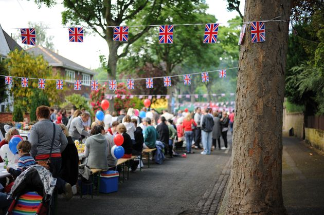 There will be street parties around the country to