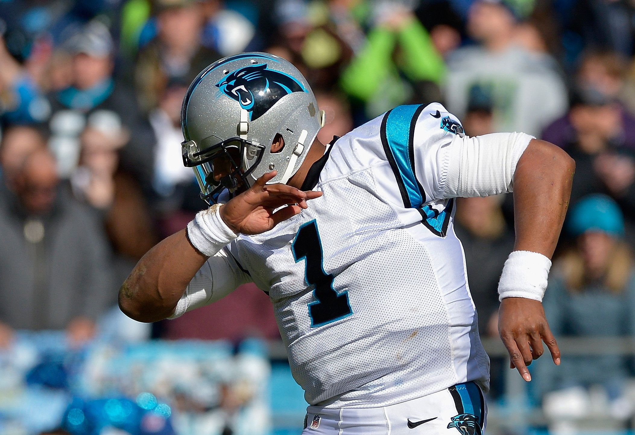 57598d2b1500002a00739b1a?cache=saxqbknayz&ops=scalefit_720_noupscale cam newton officially declares 'the dab' dead huffpost